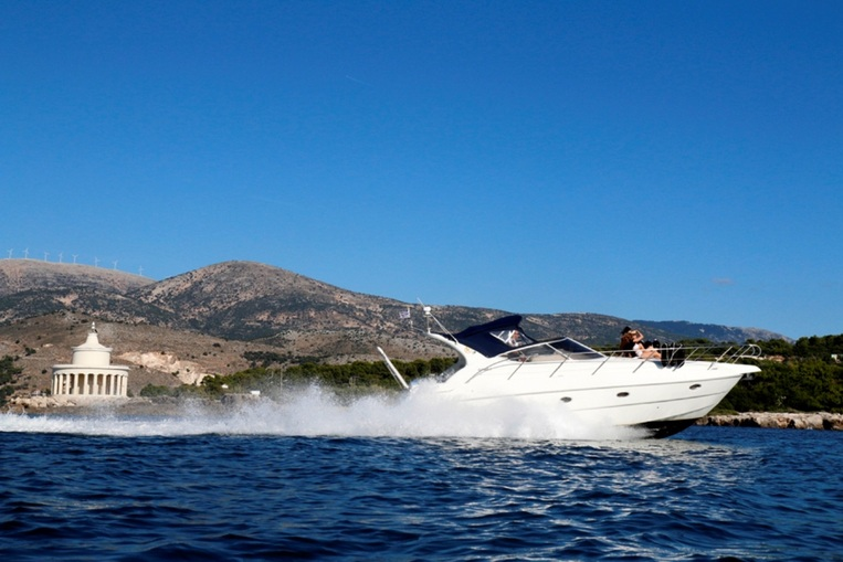 Island Queen Yachting Experience- Routes to Vardiani, Myrtos, Zakynthos