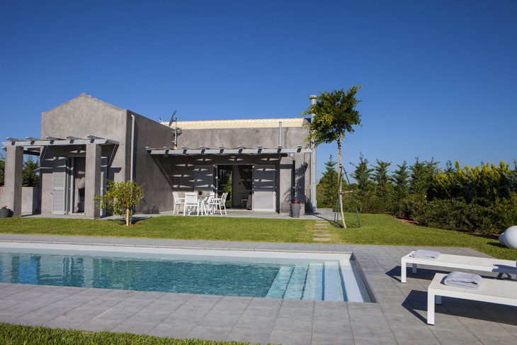 Romantic villa for couples