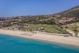 Skala Beach just bellow the resort